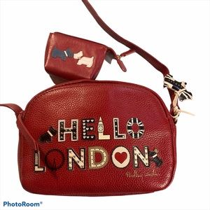 Ridley London Hello London Scotties xbody bag set